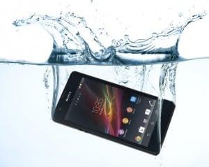 smartphone reparer tombe eau